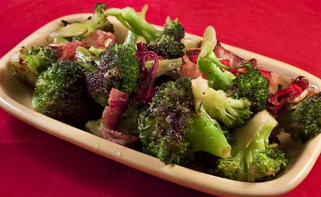 steka färsk broccoli